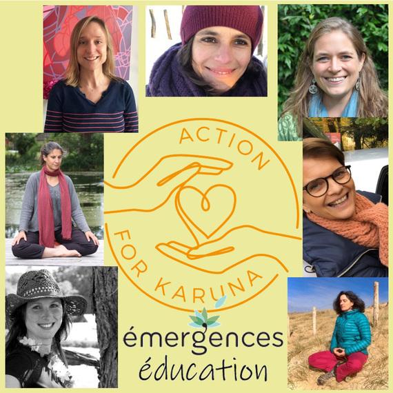 Méditations solidaires pour petits et grands - Émergences Éducation