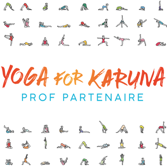 Régine Duval , cours de YOGA FOR KARUNA