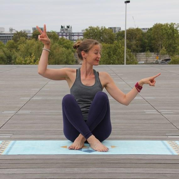 Yoga for Karuna by Knit Spirit