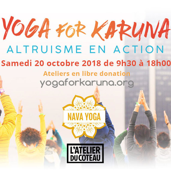 Journée Karma Yoga for Karuna