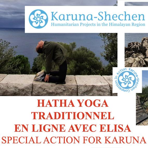 Hatha Yoga en ligne avec Elisa