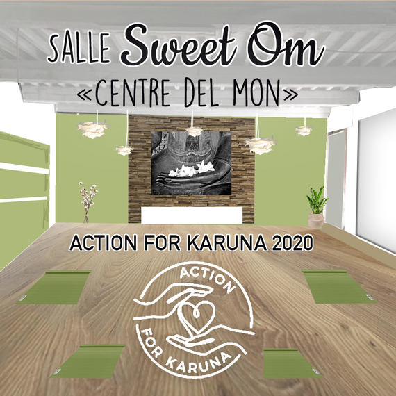 """Yoga for Karuna"" SWEET OM Perpignan"